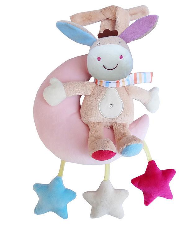 Baby Stroller Donkey Music Box