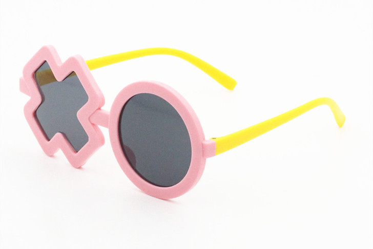 Yellow Polarized Sunglasses Transparent Frame