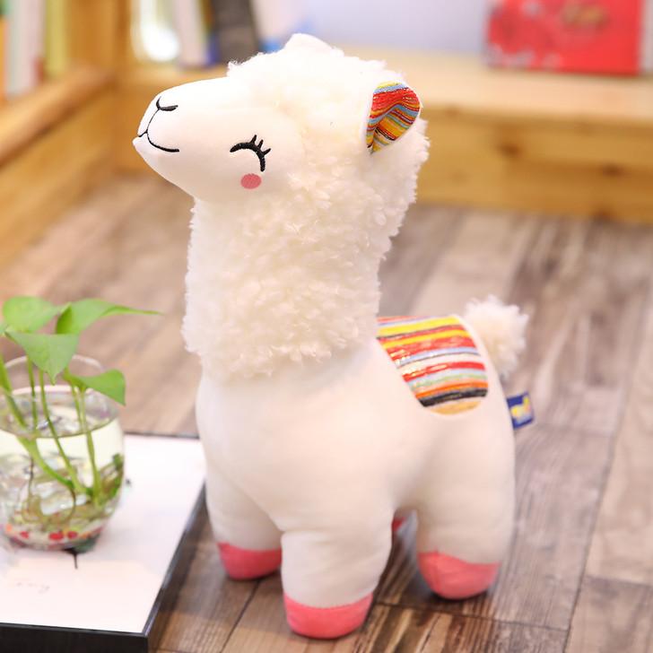 Happy Cute Lama Plush Toy