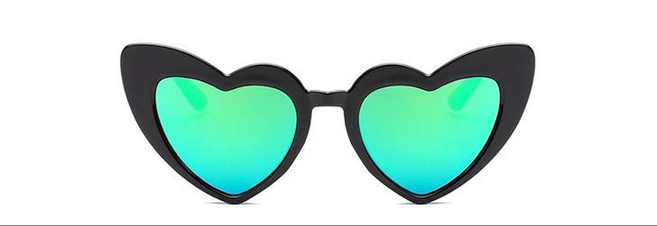 Polarized Kids Heart Sunglasses