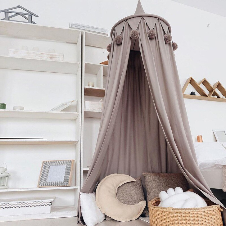 Canopy Bed Curtains Baby Crib Mosquito
