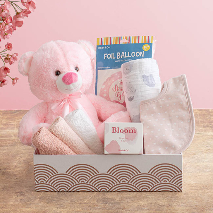Baby Hamper Toby Gift Box Baby Pink