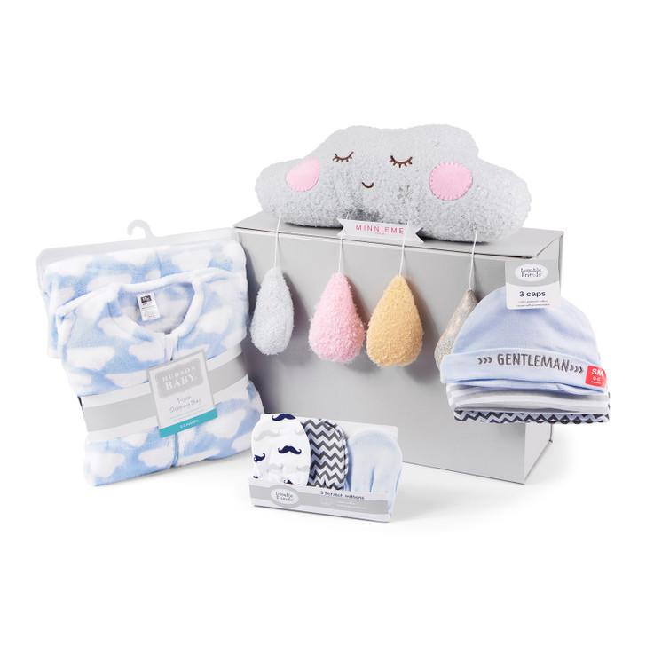 Sleep Set Welcome Baby Boy Gift Box Hamper Set