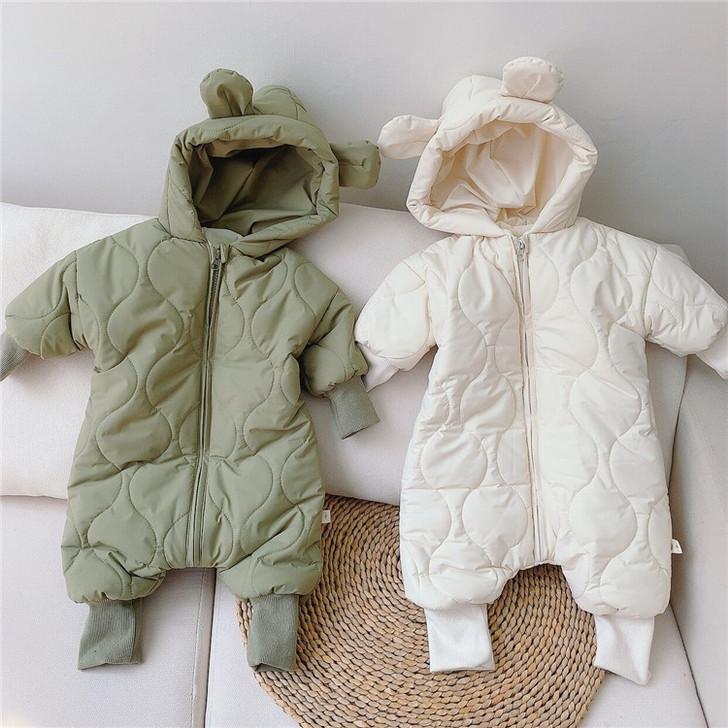Snowsuit Hooded Bear Waterproof Jumpsuit
