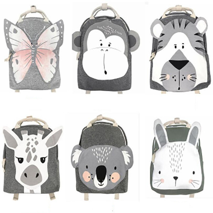 Animal 3D Print Toddler Backpack