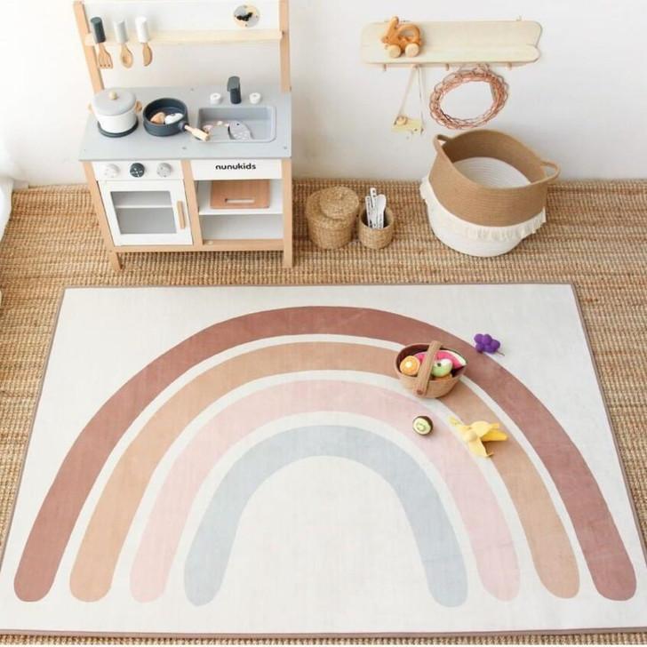 Rainbow Baby Play Mat