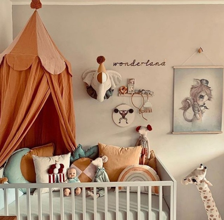 Baby Mosquito Net Hung Dome Bedding Tent Curtain Baby Bed Canopy Tent Room Decor