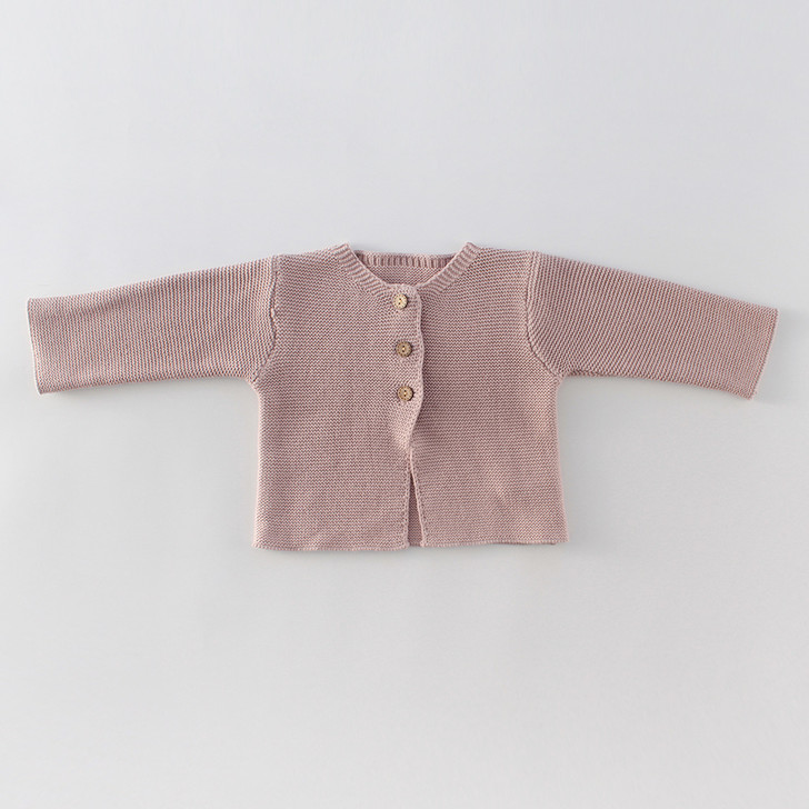 Infant Knitted Light Pink Cardigan