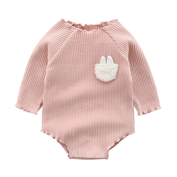 newborn-romper-long-sleeve-robe-lotus-root-powder