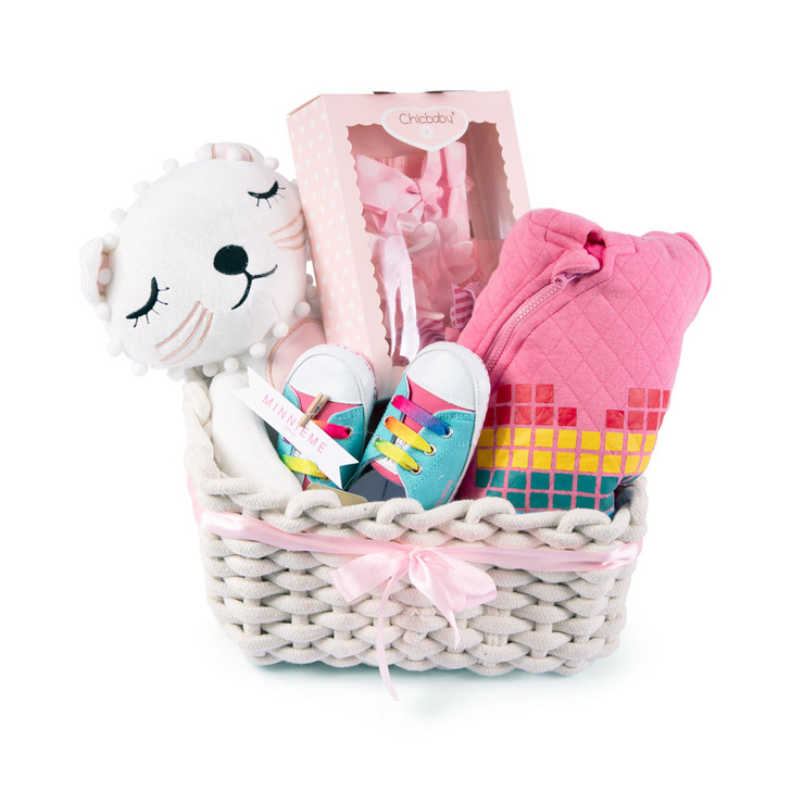 Baby Girl Hamper Gift Set Day Out Outfit Rainbow Outwear