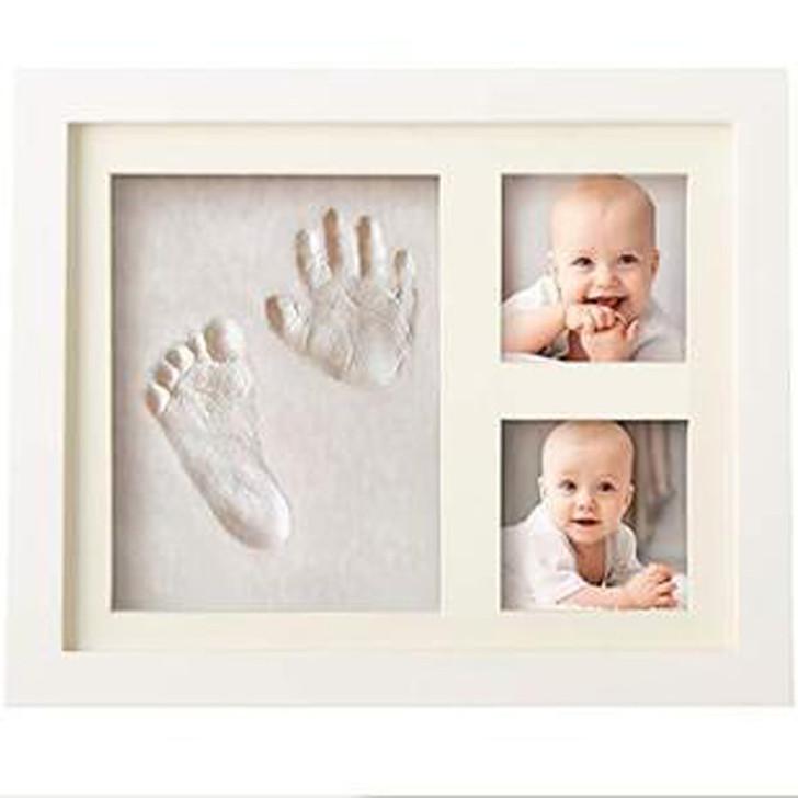 Air-Drying Clay Baby Handprint Kit & Footprint Photo Frame