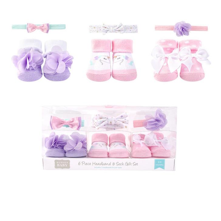 6 Pieces Gift Set Purple Pink