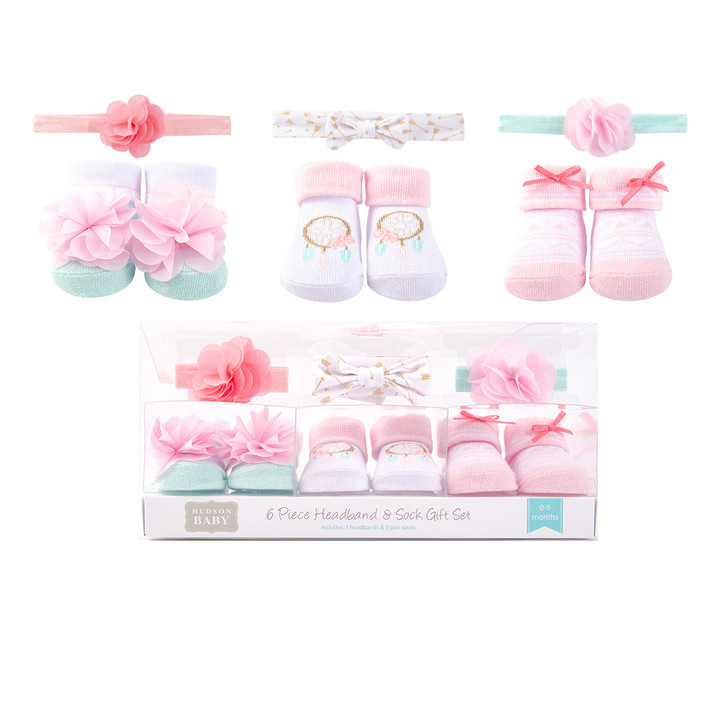 6 Pieces Gift Set Baby Girl