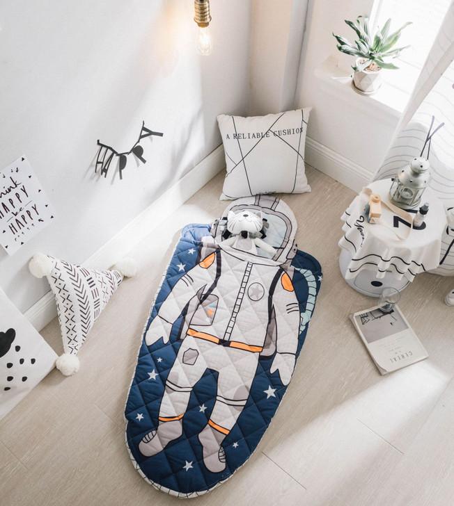 Astronaut Kids Sleeping Bag With Pillow