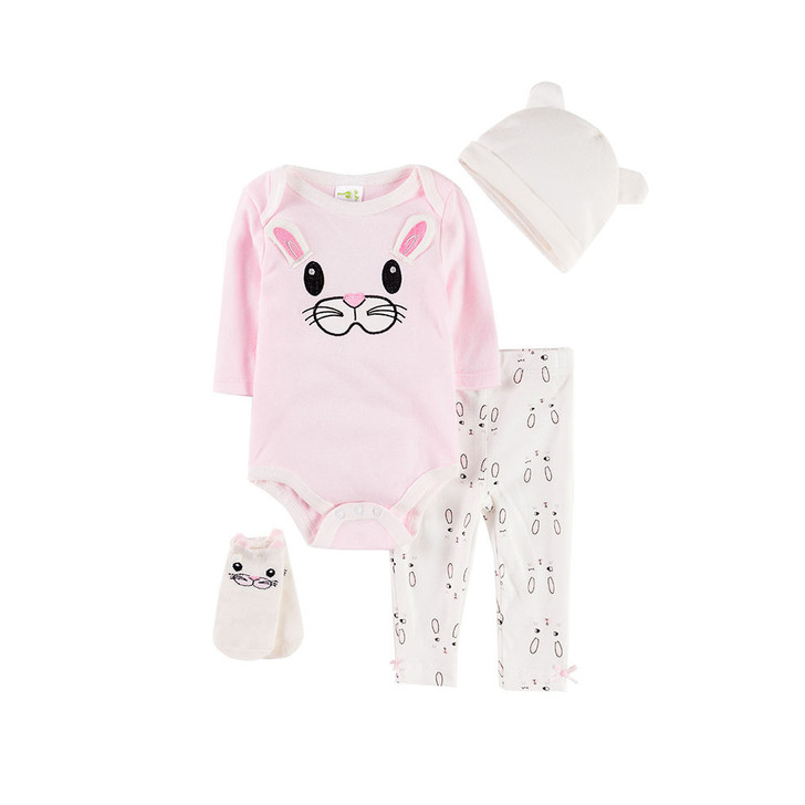 cotton-robe-four-piece-suit-0-1-year-old-baby-pink-rabbit