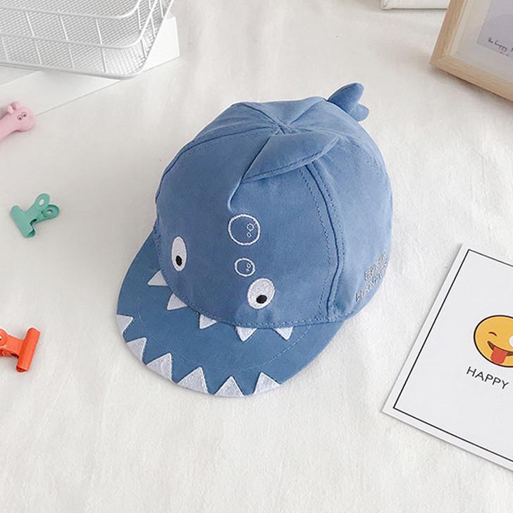 little-shark-shape-childrens-baseball-blue-hat