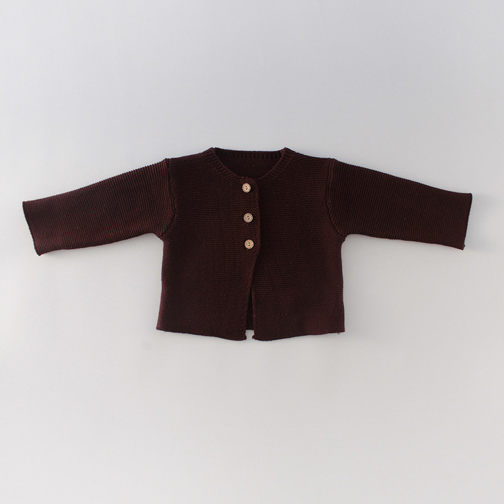 infant-knitted-dark-red-jacket