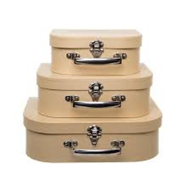 Suitcase Gift Box Brown Kraft
