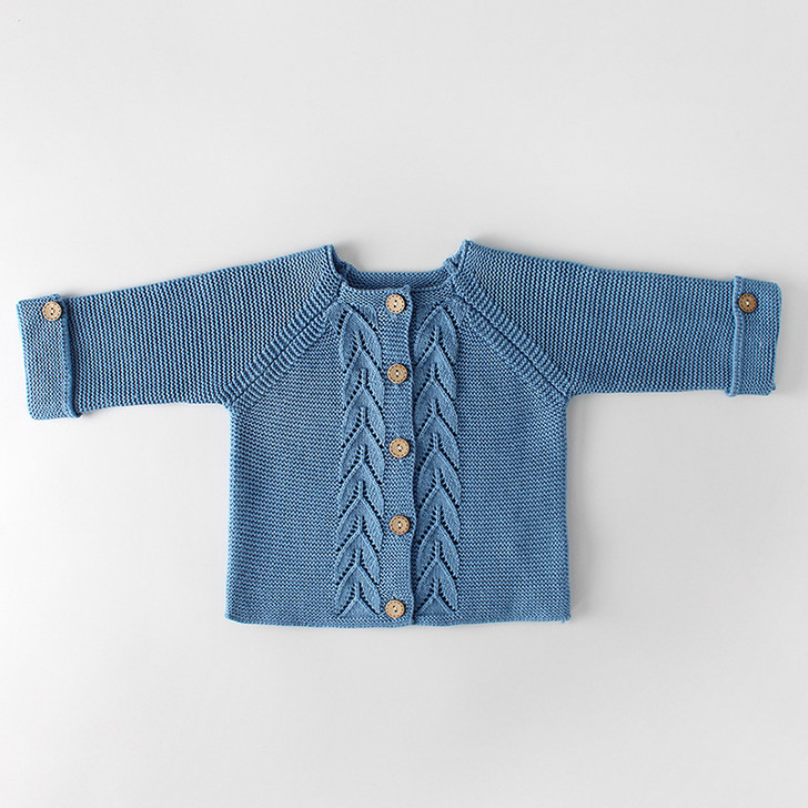 Baby Blue Color Cardigan 3to18 Month