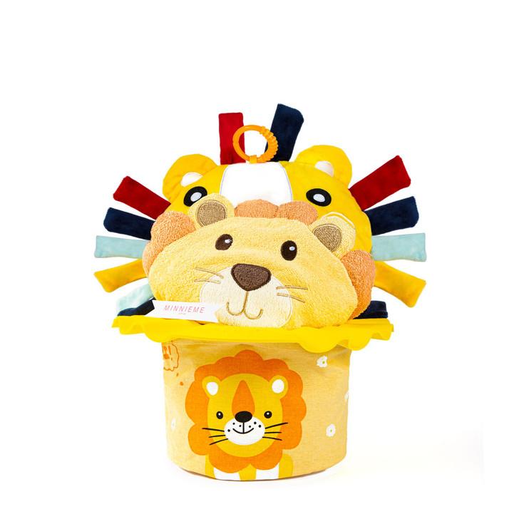 Baby Bath Time Hamper Lion Gift Set