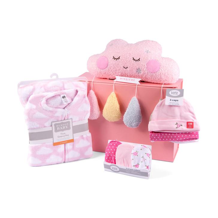 Sweet Dream Set Welcome Baby Girl Gift Box Hamper