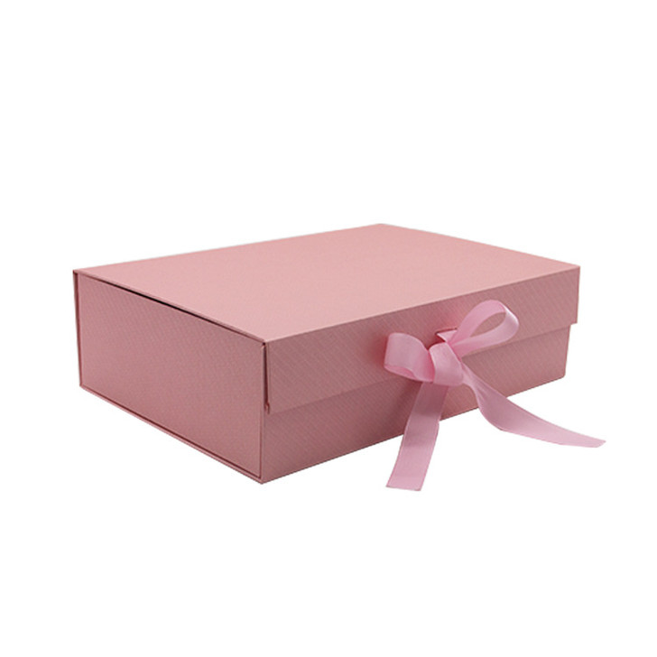 Make It Gift Boxes with Ribbon & Magnetic Closure Pink