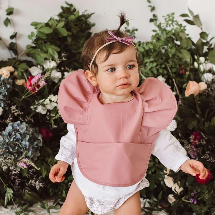 Baby Bib Waterproof Bib Travel Bib Washable Bib Beautiful Bib Girl Bib