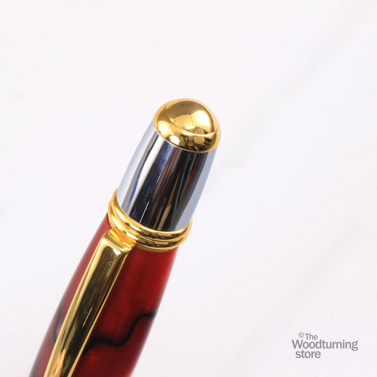 Legacy Viceroy Pen Kit - Gold / Chrome