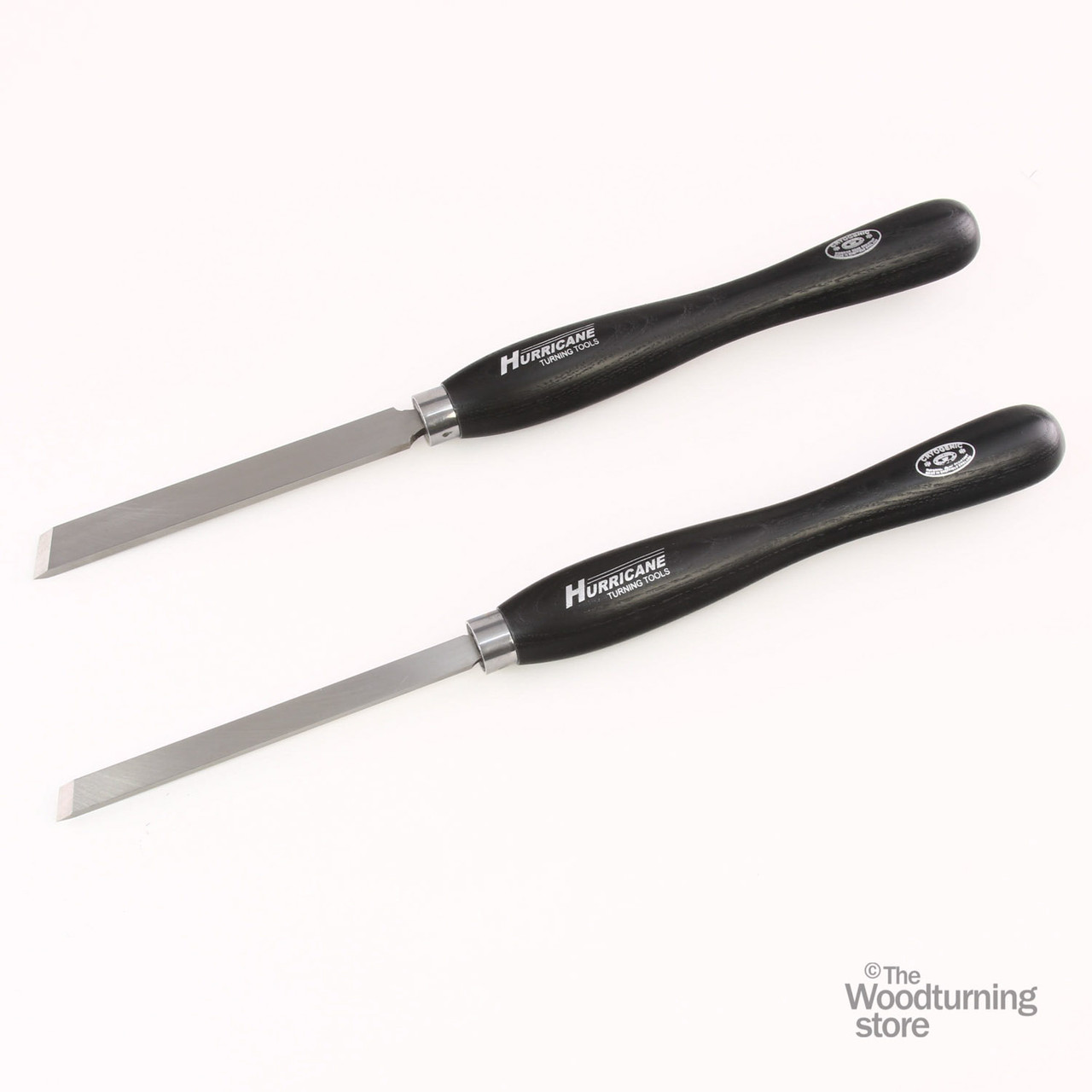 """Hurricane M2 Cryo, 2 Piece Skew Chisel Pro Tool Set (3/4"""" and 1/2"""" Wide)"""