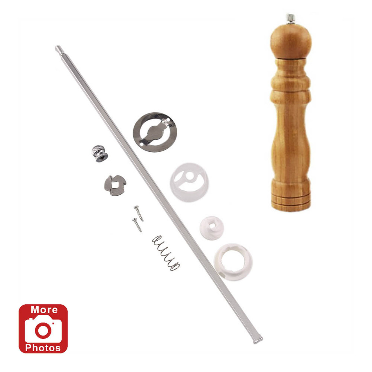 Legacy 12 Inch Salt and Pepper Mill Kit