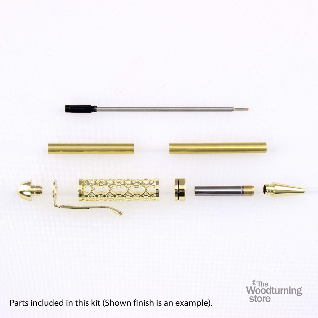 Legacy, European Filigree Pen Kit - Gold
