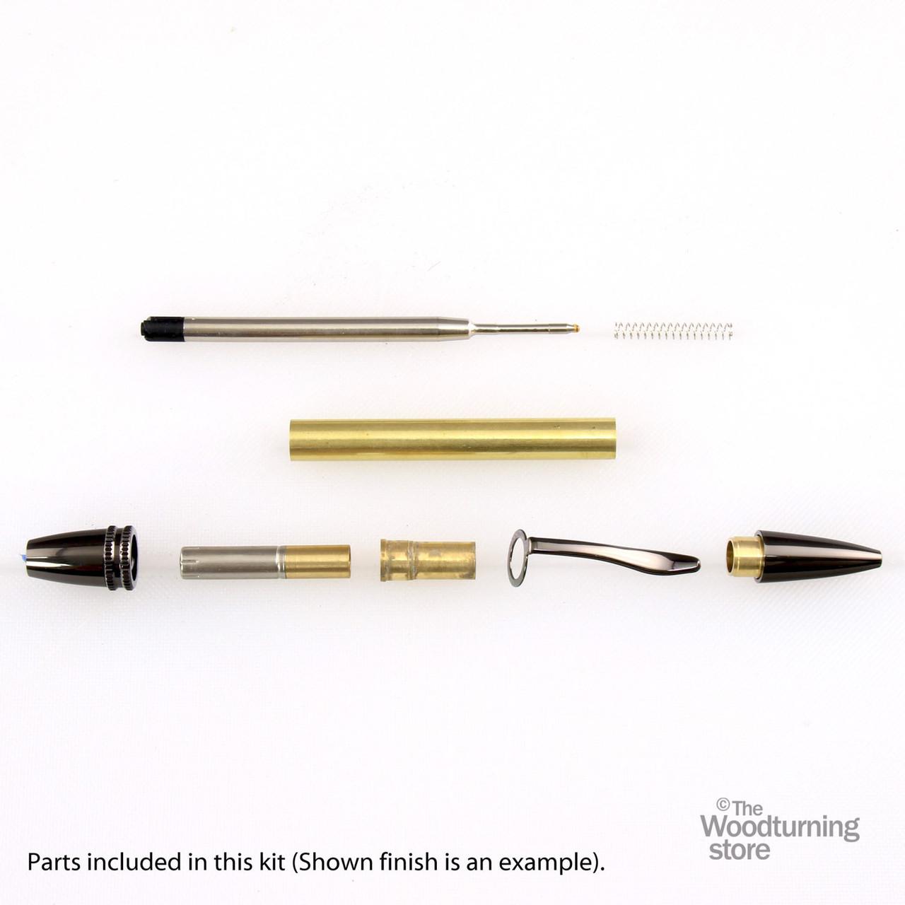 Legacy Polaris Twist Pen Kit - Black Chrome
