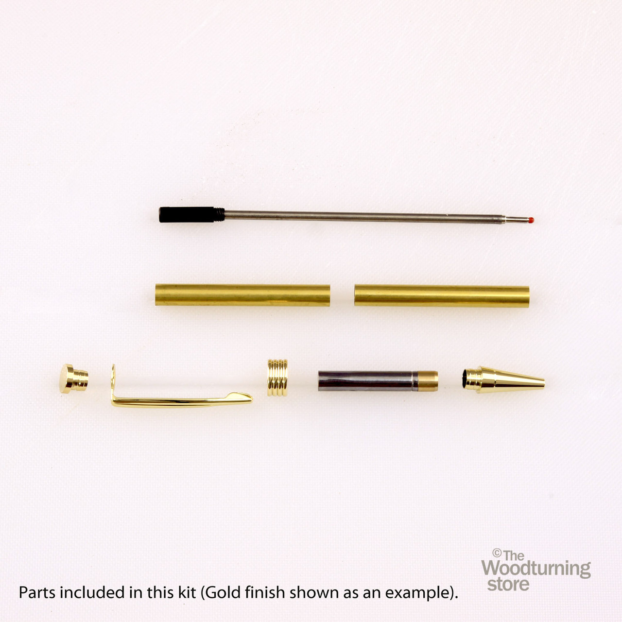 Legacy Streamline Pen Kit - Gun Metal