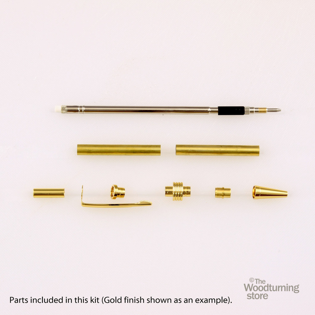 Legacy Streamline Pencil Kit - Gun Metal