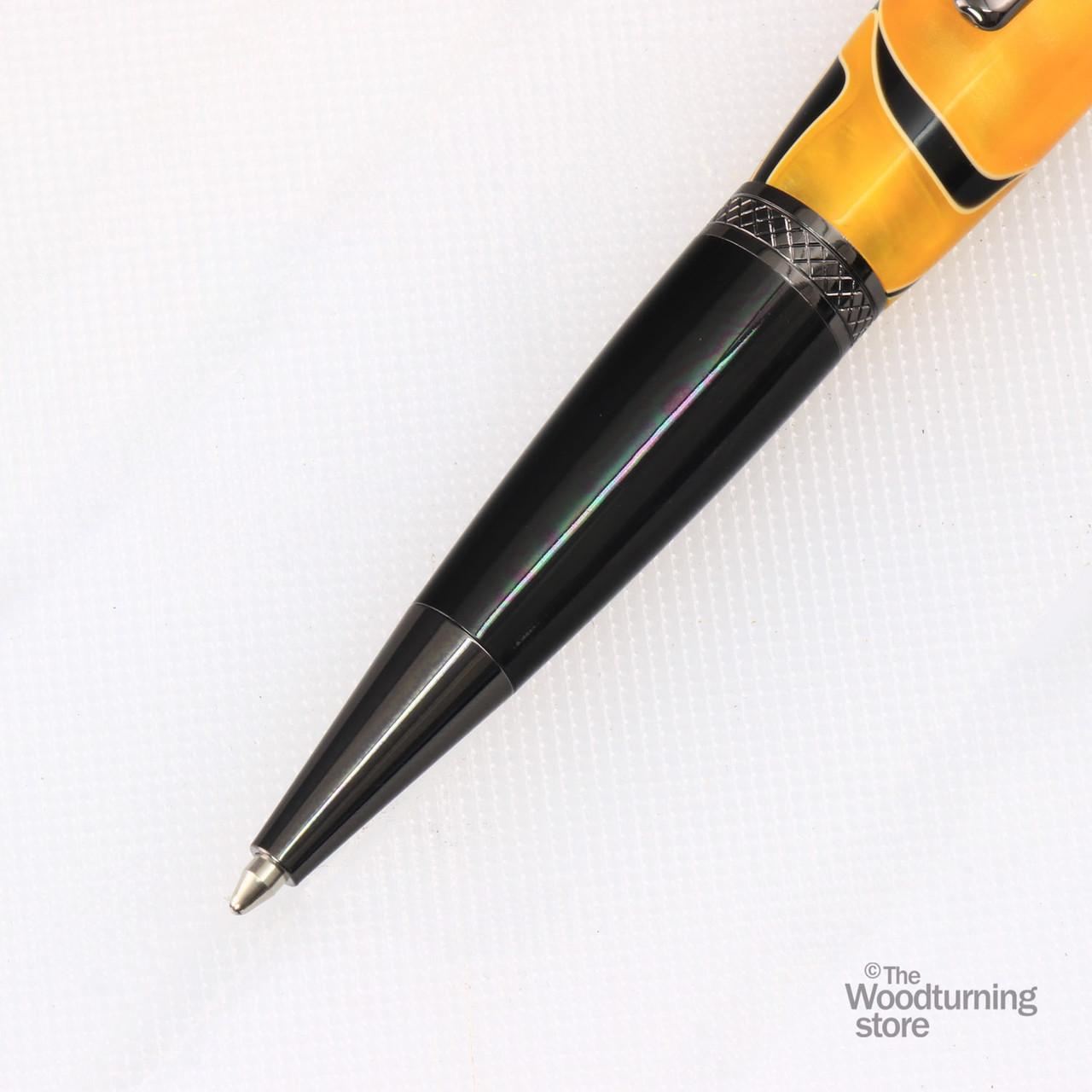 Legacy Viceroy Pen Kit - Gun Metal / Black Chrome