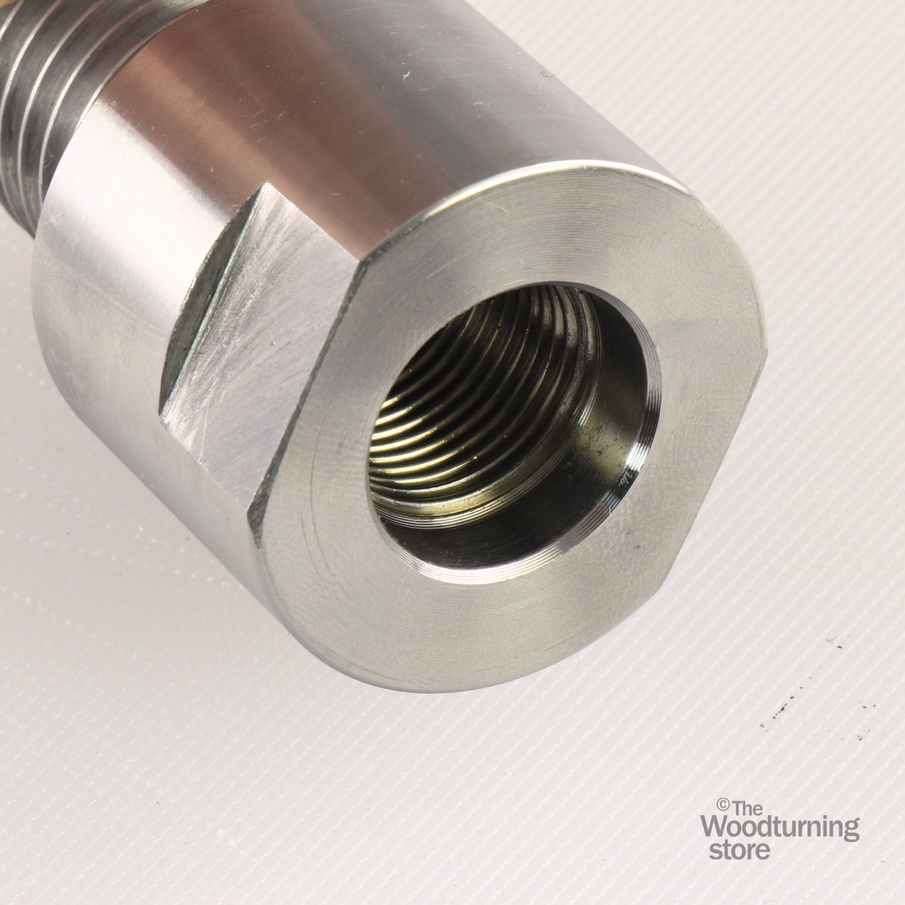 Outstanding Lathe Headstock Spindle Adapter Converts 3 4 X 16Tpi To 1 X 8Tpi Machost Co Dining Chair Design Ideas Machostcouk