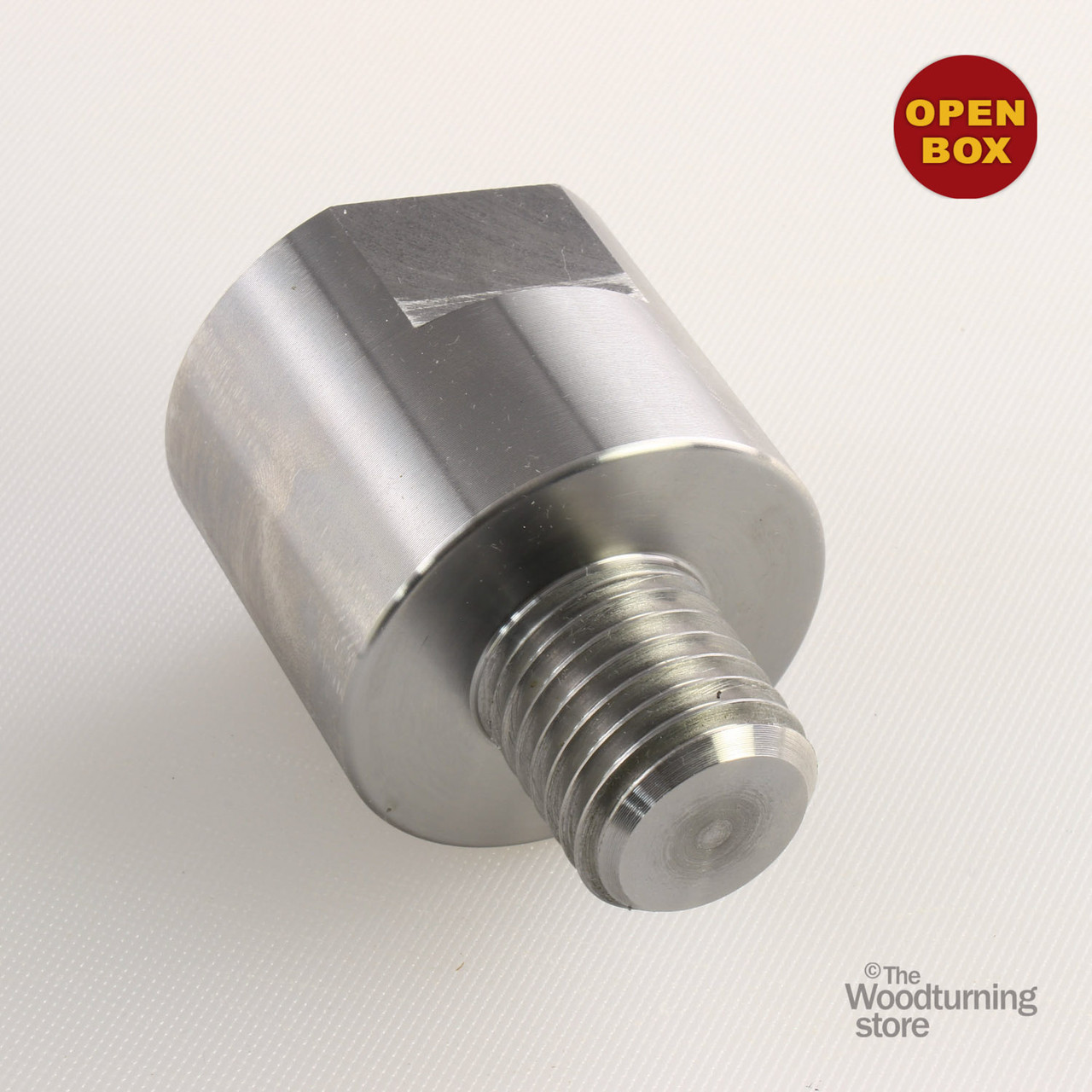 """Headstock Spindle Adapter 3//4/"""" x 16TPI to 1/"""" x 8TPI Hurricane Turning Tools"""