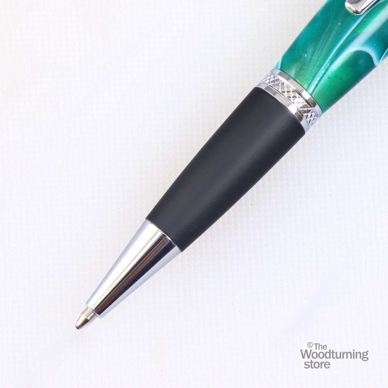 Legacy Viceroy Pen Kit - Chrome and Matte Black Chrome