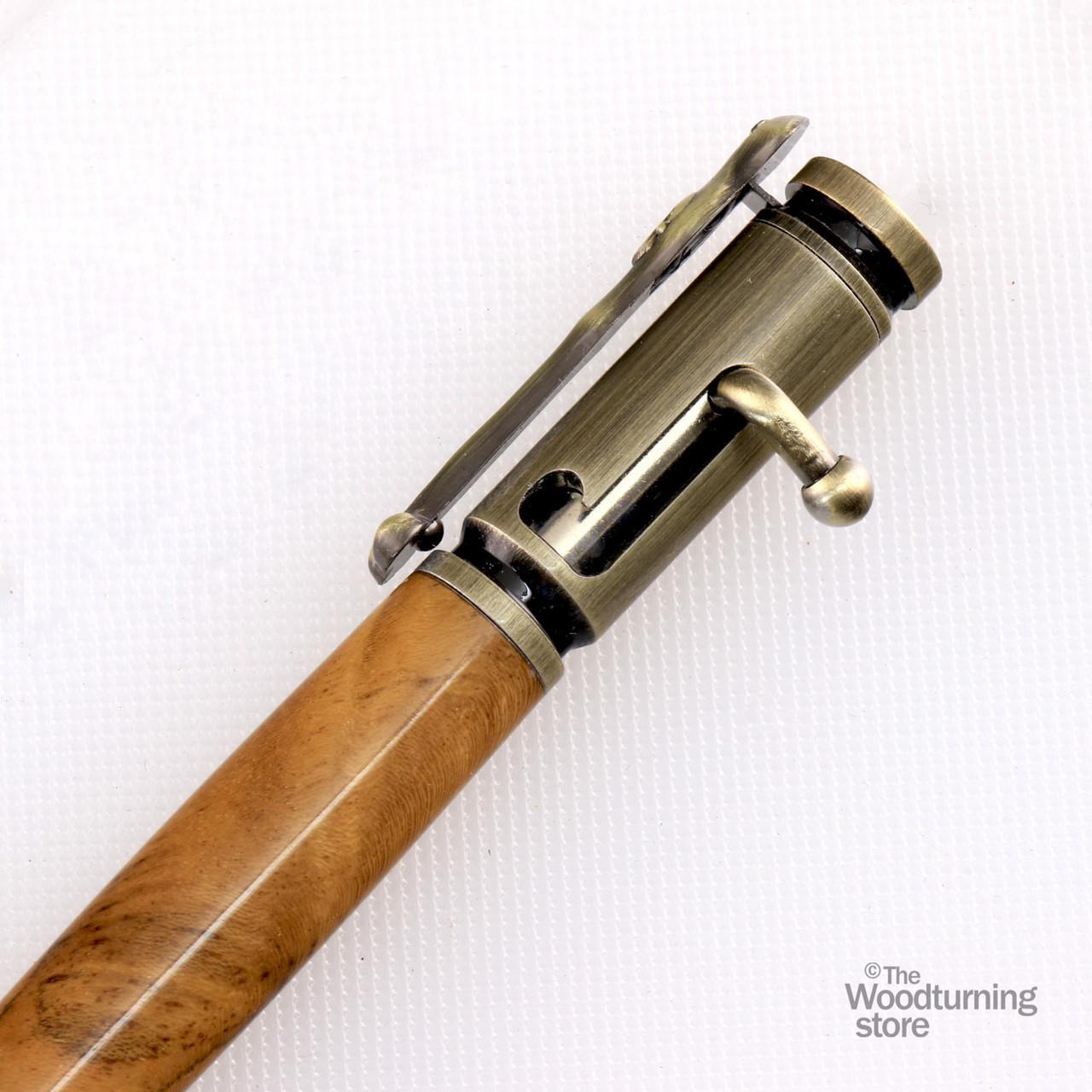 Hand Turned Buccaneer Pen
