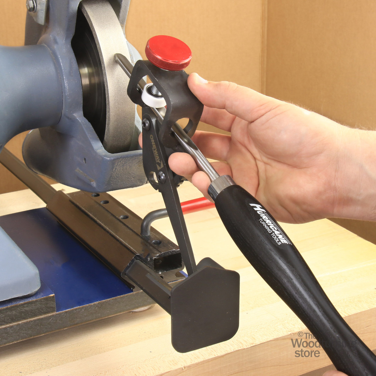 Oneway Wolverine Grinding Jig with Vari-Grind Attachment and Skew Attachment
