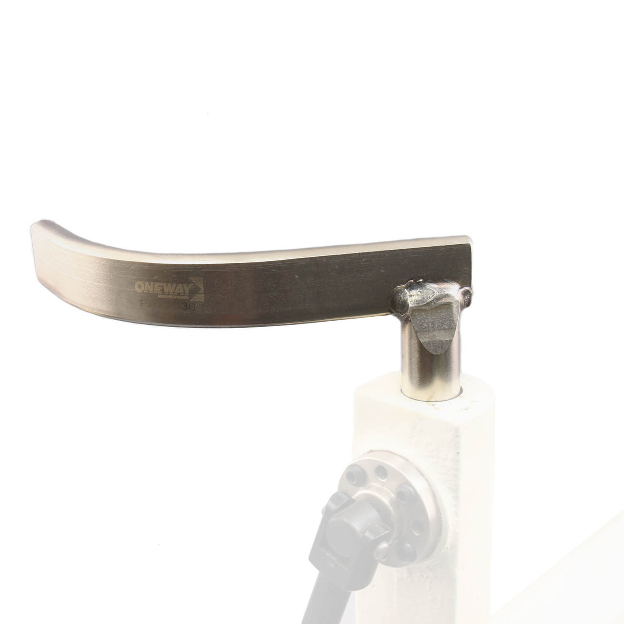 """Oneway Curved Toolrest, 1"""" Post, General Purpose, Short Post"""