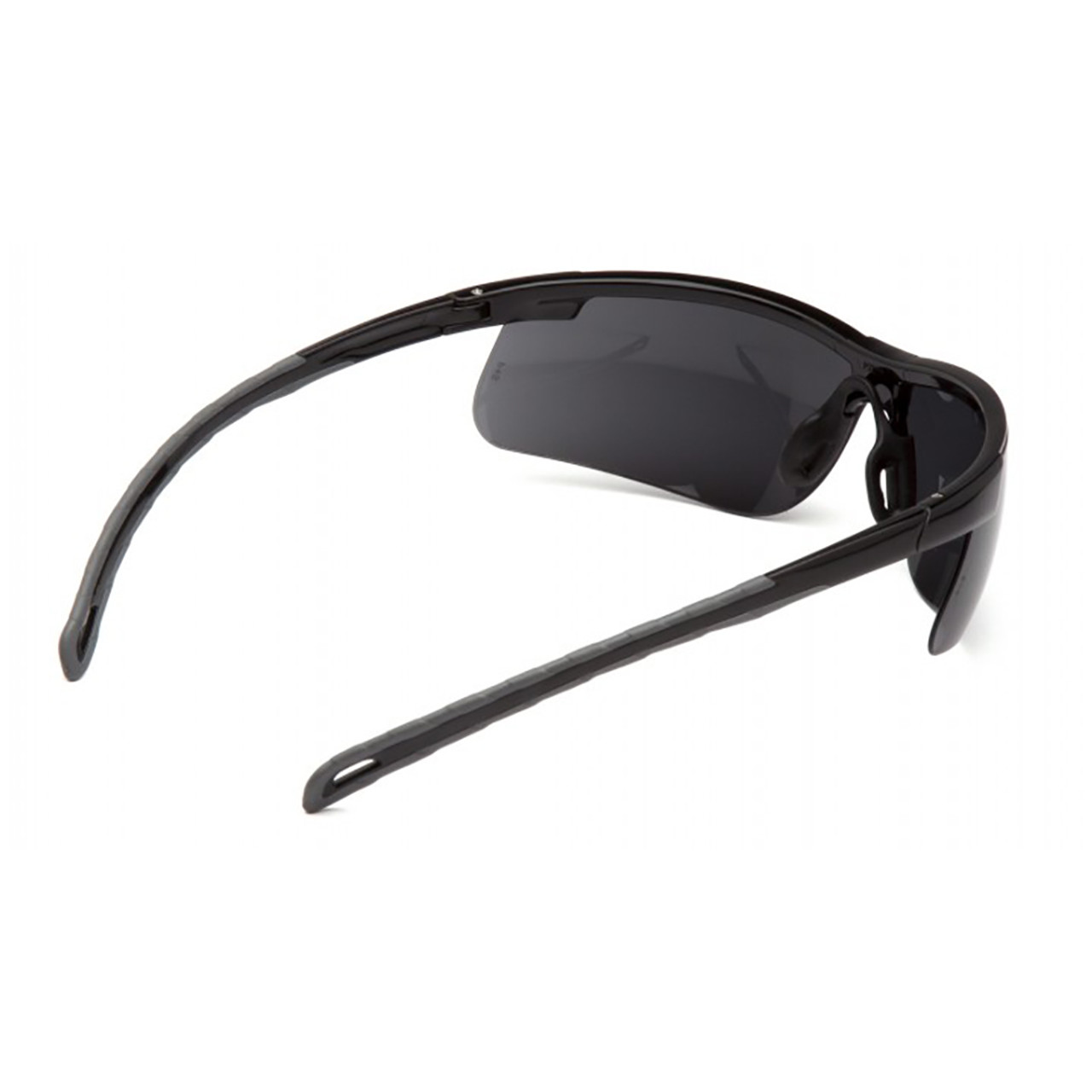Pyramex Ever-Lite Series Safety Glasses with Dark Lens H2X Anti-Fog Lens and Black Frame