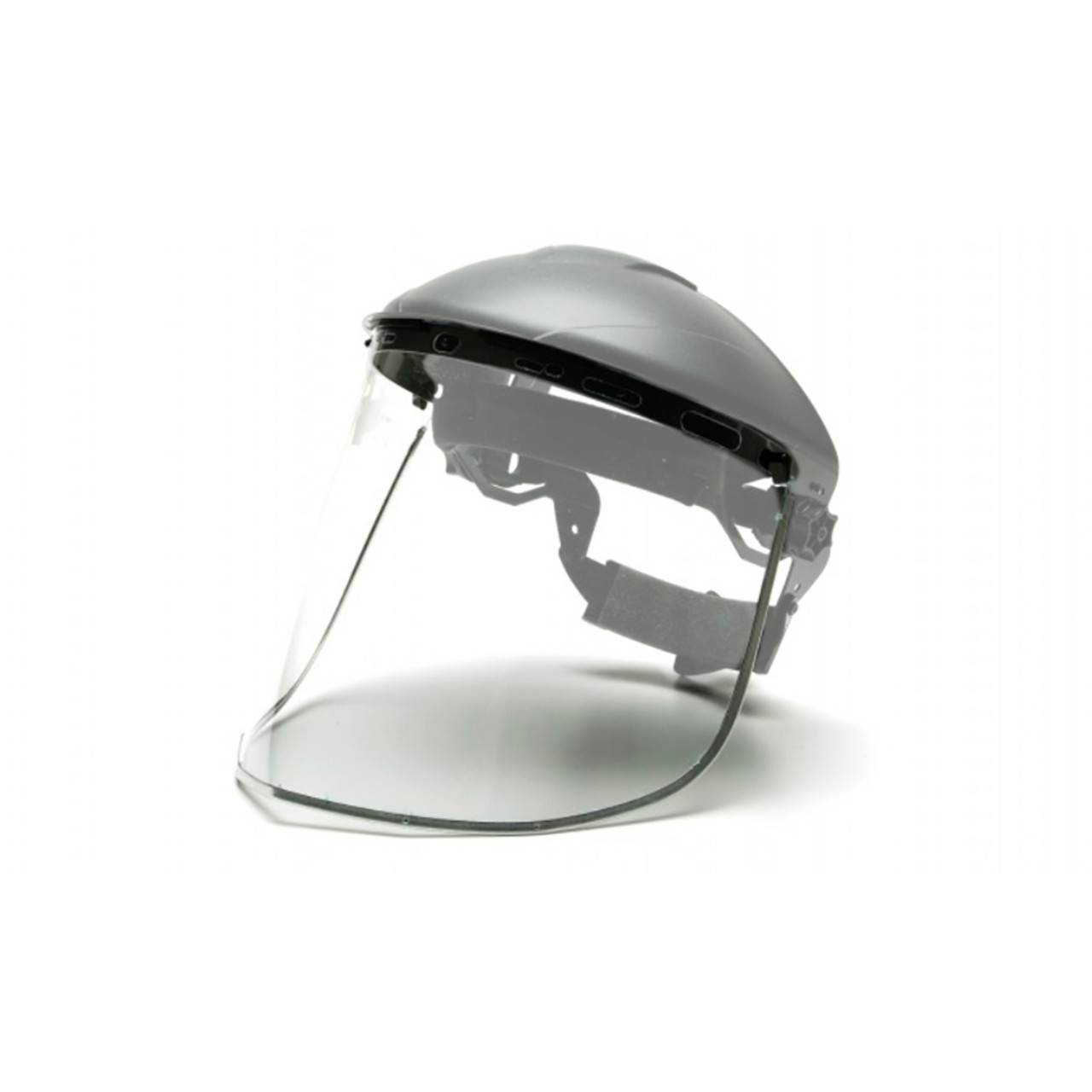 Pyramex Clear Aluminum Bound Polycarbonate Face Shield (Replacement Shield Only)