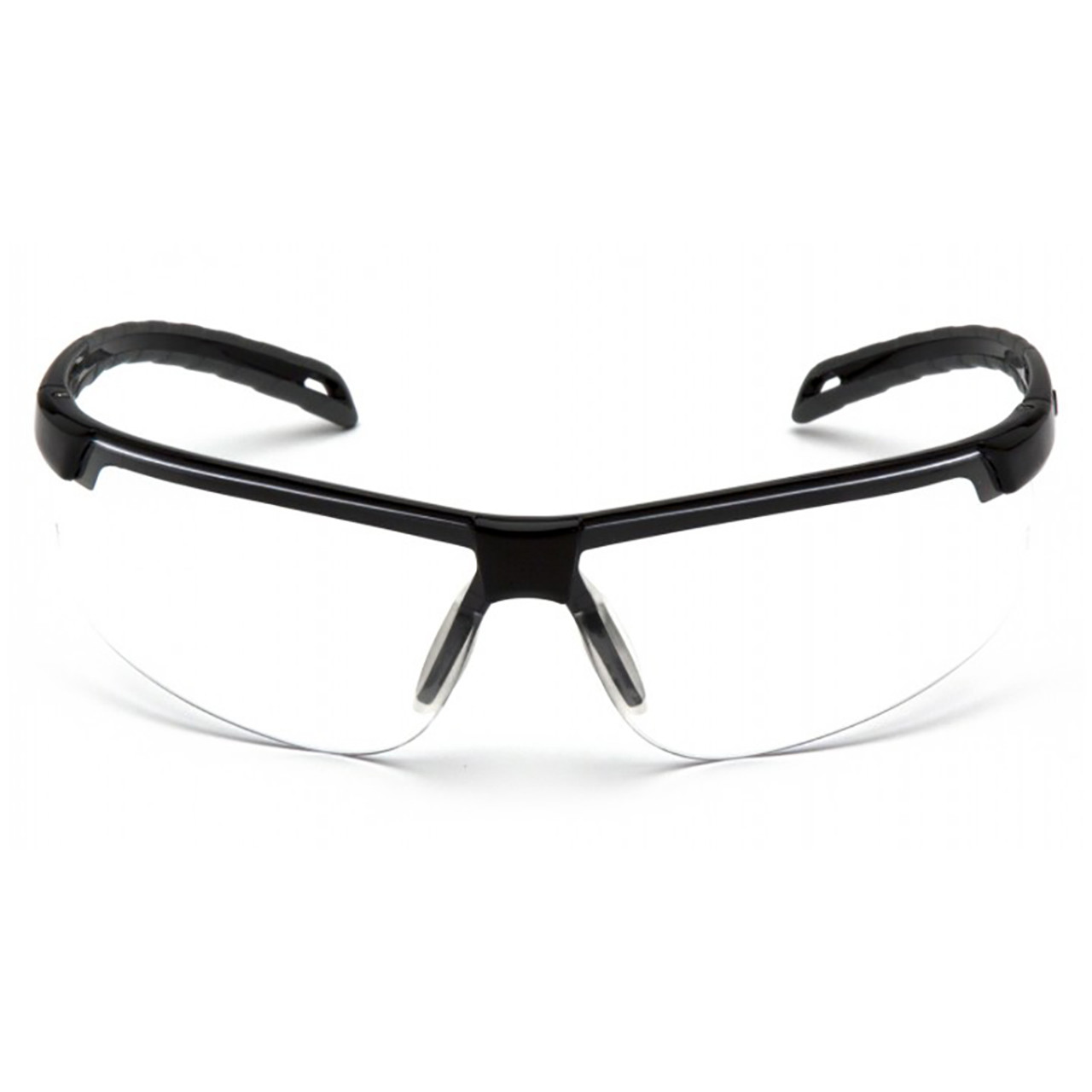 Pyramex Ever-Lite Series Safety Glasses with Clear H2X Anti-Fog Lens and Black Frame