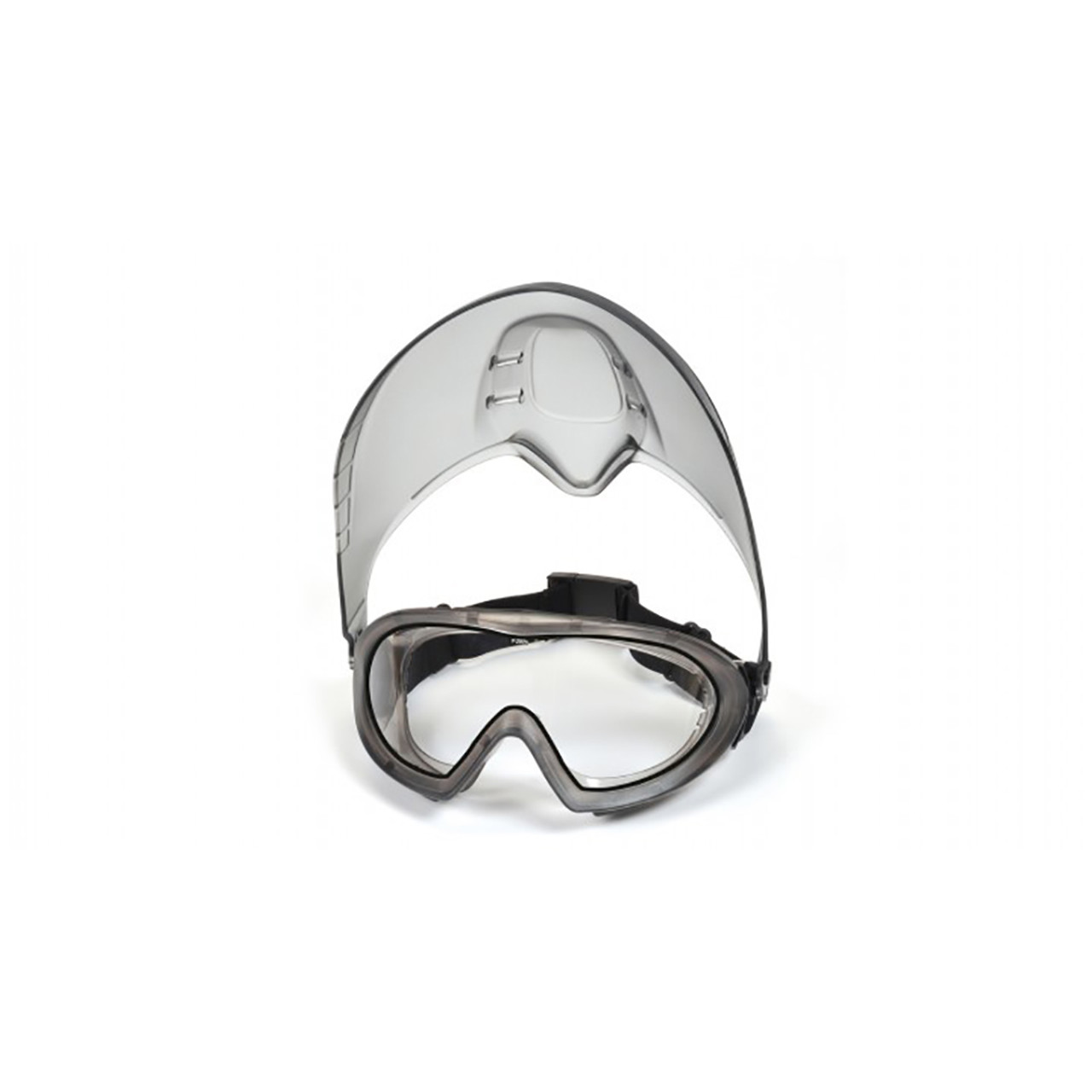 Pyramex Capstone Series - Direct/Indirect Goggle with Clear Anti-Fog Lens and Faceshield Attachment