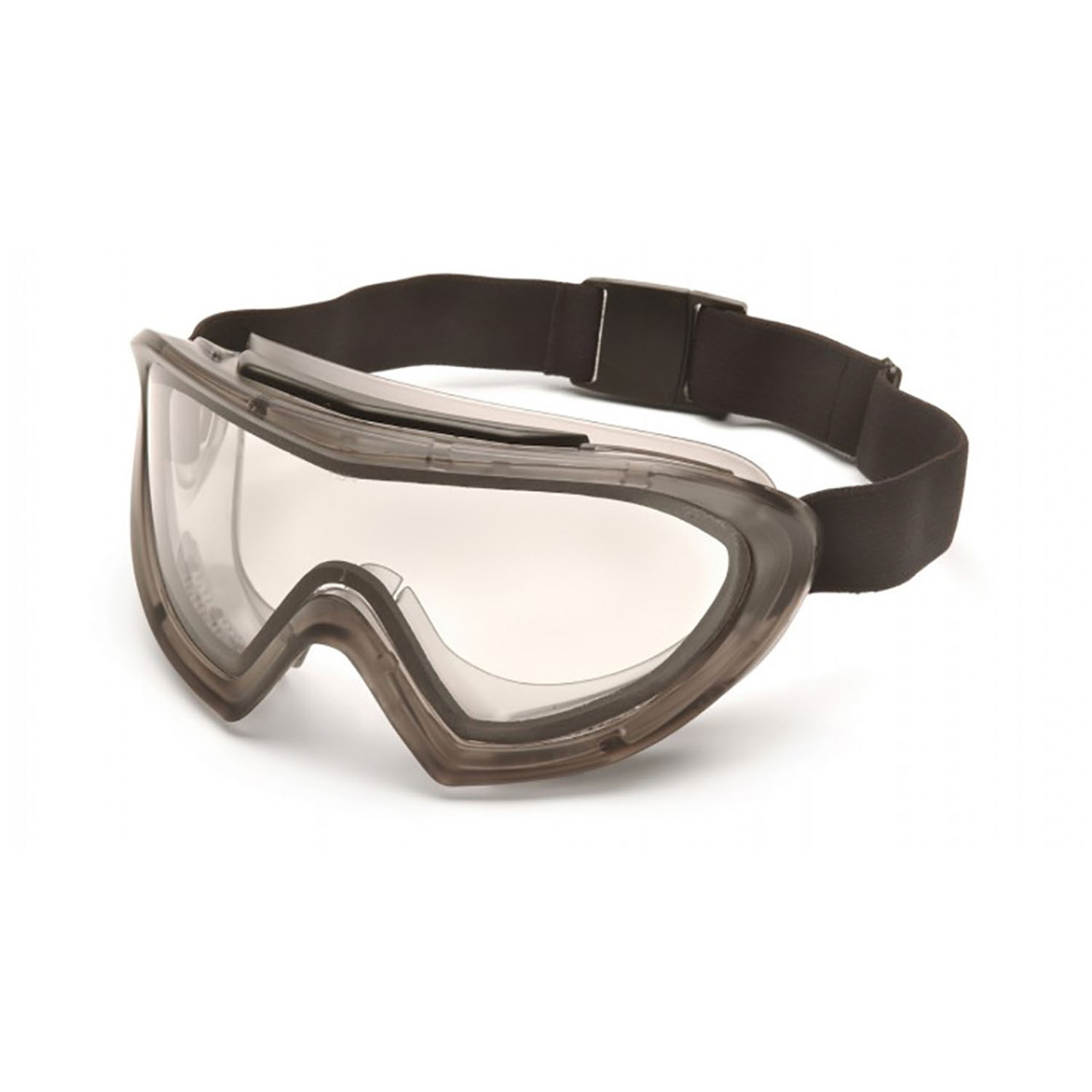 Pyramex Capstone Series - Direct/Indirect Goggle with Clear H2MAX Anti-Fog Lens