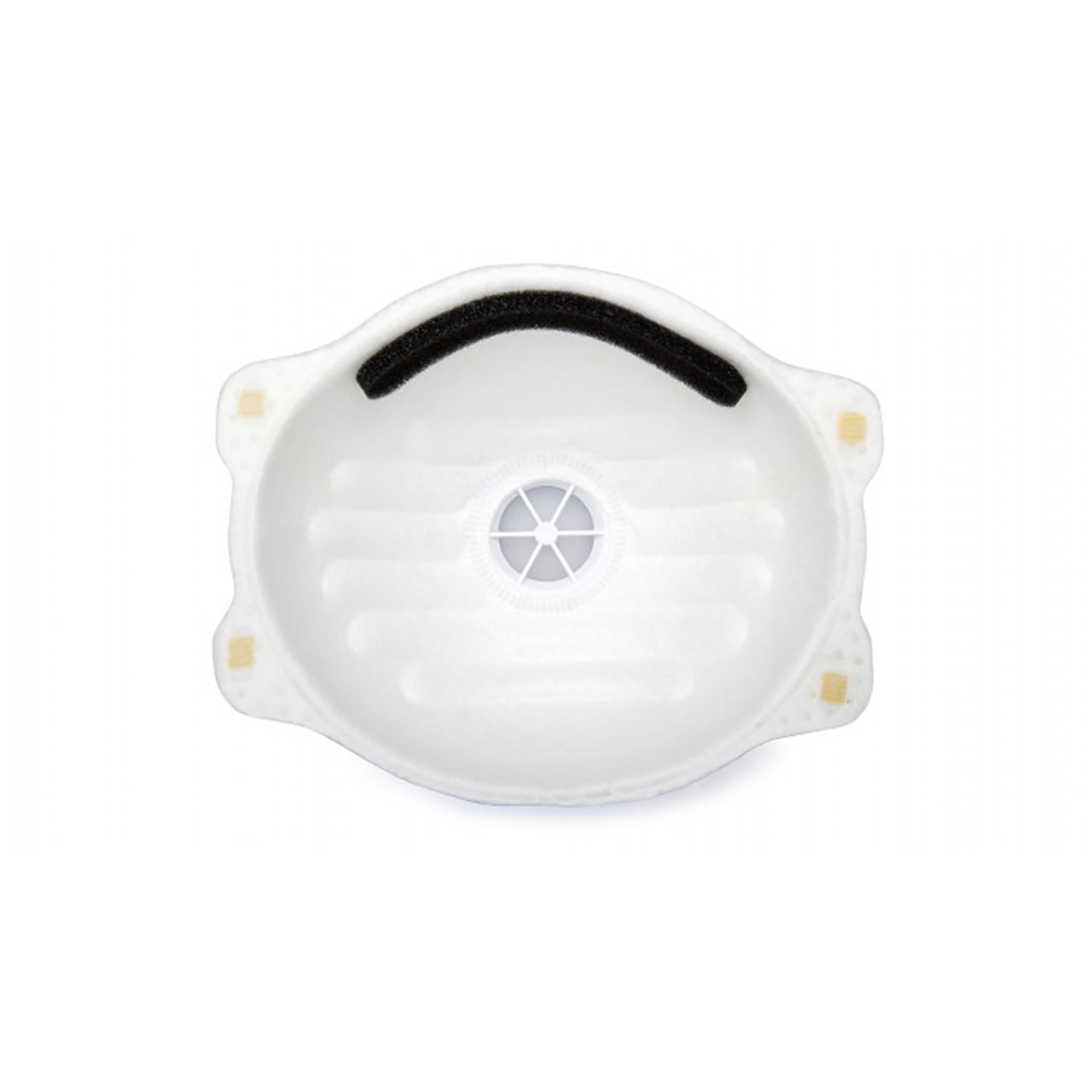 Pyramex Disposable Dust Mask with Valve, Box of 10