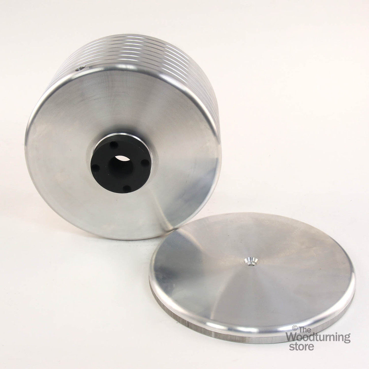 """Oneway 8"""" Drum for Vacuum Chuck with 1 1/4"""" x 8 TPI Insert"""