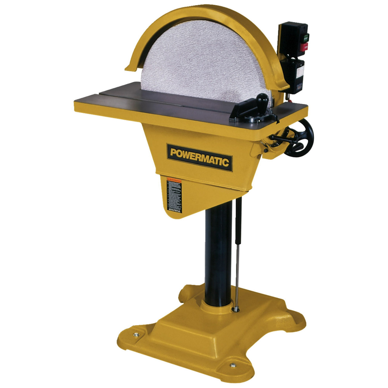 "Powermatic DS-20, 20"" Disc Sander, 3HP 3PH 230/460V"