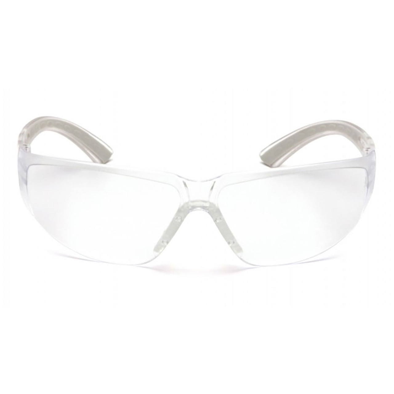Pyramex Cortez Series Safety Glasses with Clear Lens, 12 Pack